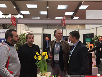 Pierre Hermé visiting our stand at CFIA