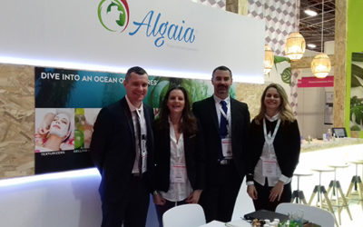 ALGAIA DIVES IN TEXTURES AT IN-COSMETICS GLOBAL