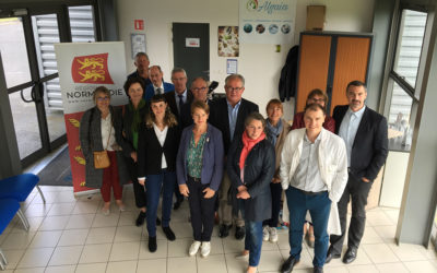 ALGAIA PRESENTS THE VARECH PROJECT TO THE REGION