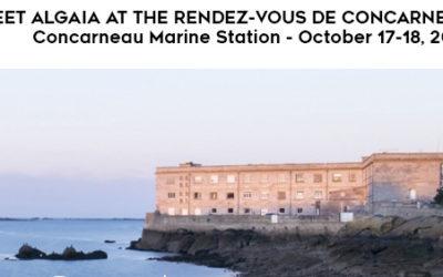 ALGAIA CHAIRS SCIENTIFIC COMMITTEE AT THE 2019 RENDEZ-VOUS DE CONCARNEAU