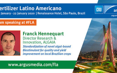 ALGAIA WILL BE PRESENT AT FERTILIZER LATINO AMERICANO