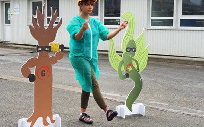 Algaia participates to a children program about seaweed…in breton language