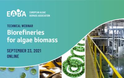 Algaia présidera un webinaire technique sur la bioraffinerie algale