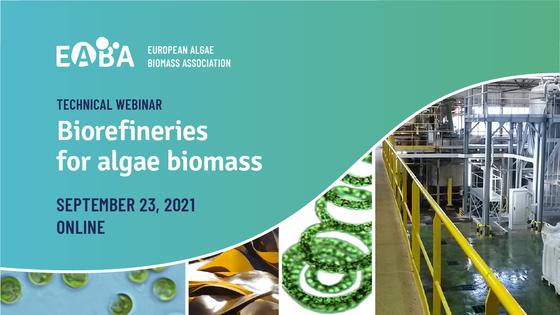 Algaia to chair the Biorefineries for Algae Biomass Technical Webinar