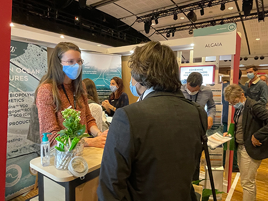 Algaia présente sa gamme de biopolymères à Cosmetic 360